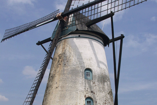 Windmolen 'In stormen sterk'